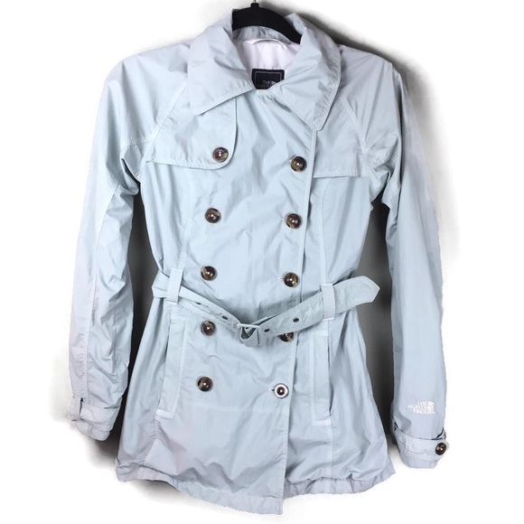 The North Face Jackets & Blazers - North Face Hyvent Rain Belted Trench Coat Size XS